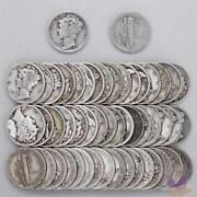 US Silver Dimes