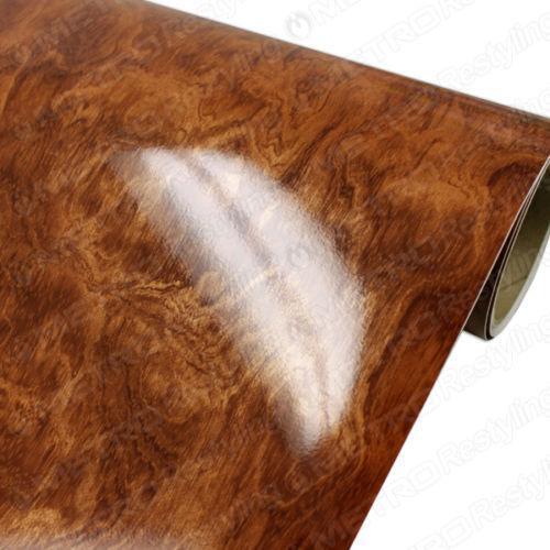 wood grain vinyl car truck parts ebay. Black Bedroom Furniture Sets. Home Design Ideas