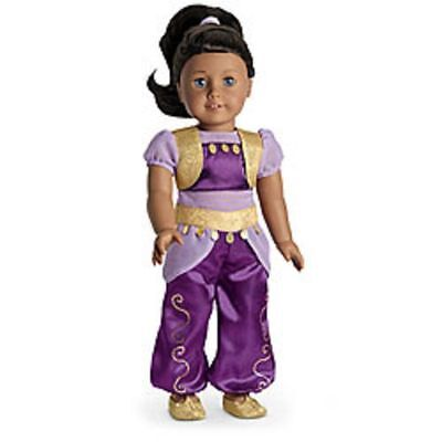 American Girl Genie Costume for Doll NIB Halloween - No Doll - McKenna Julie Mia - Mckenna Halloween Costume