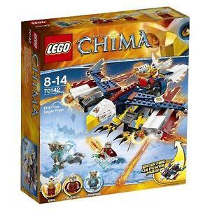 **BRAND NEW SEALED LEGENDS OF CHIMA ERIS FIRE FLYER SET #70142**