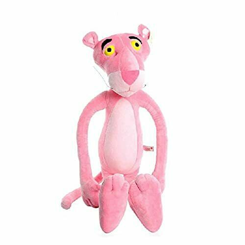 60CM Lovely Naughty Pink Panther Plush Stuffed Toy Doll Gifts