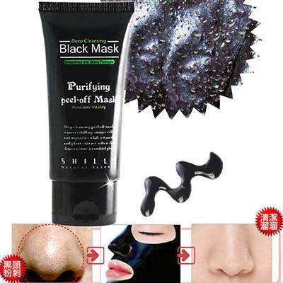 Shills Blackhead Mask Acne Remover Peel-Off Mud Anti Aging Facial Pore 50ml Tube