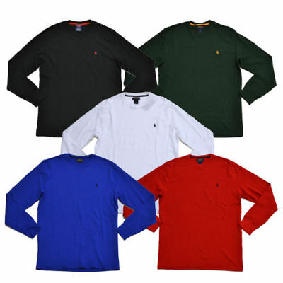 New Mens Ralph Lauren Polo Top Crew Waffle Thermal Top Small Medium Large XL 2XL ()