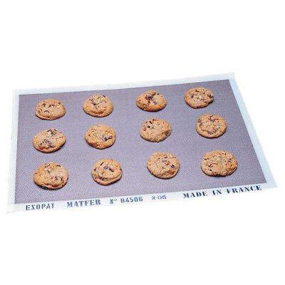 Matfer Exopat 16-3/8 inch x 24-1/2 inch Non-Stick Baking Mat Exopat Non-stick Baking Mat
