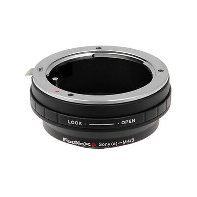 Fotodiox Lens Adapter Sony A-Mount (Minolta AF) Lens to Micro Four Thirds Camera (Four Thirds Mount Adapter)