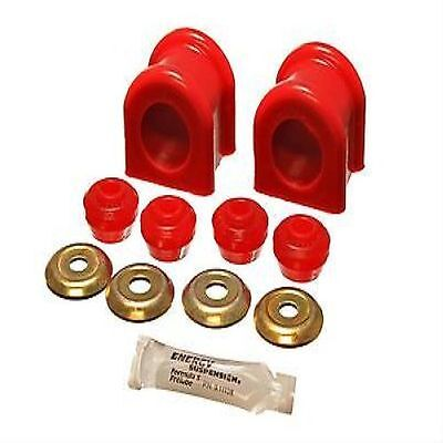 - ENERGY SUSPENSION 5.5174R Sway Bar Bushings Front Polyurethane Red Dodge Kit