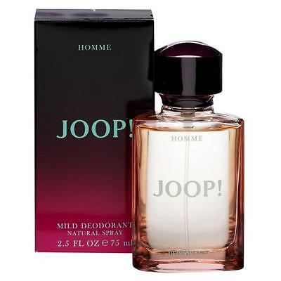 JOOP HOMME 75ML MILD DEODORANT NATURAL SPRAY BRAND NEW & BOXED
