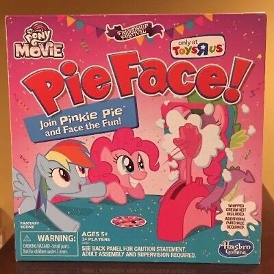 My Little Pony The Movie Pinkie Pie Edition Pie Face Game Toys R Us Exclusive