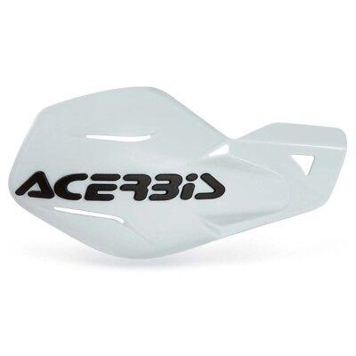 ACERBIS UNIKO HANDGUARDS WHITE Motocross Enduro Universal