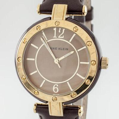Anne Klein Gold Plated Quartz Watch Iridescent Dial 10/9994