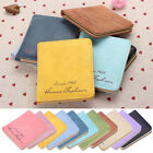 Faux Leather Checkbook Coin Purses for Women