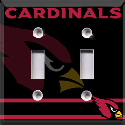 Football Arizona Cardinals Themed  Light Switch Cover Choose Your Cover Cardinals Light Switch Covers
