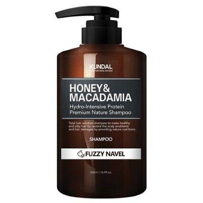 KUNDAL Honey & Macadamia Shampoo Fuzzy Navel 500ml Nature Moisturizer K beauty