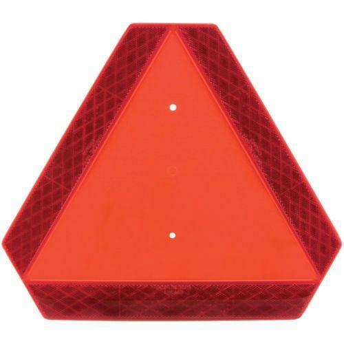 Tractor Reflective Triangles : Reflective triangle car truck parts ebay