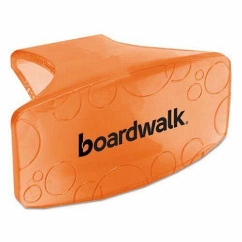 Boardwalk Eco Fresh Bowl Clip, Mango Scent, Orange, 12 Bowl Clips (BWKCLIPMAN)