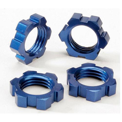 T-Maxx 3.3 Revo 3.3 E-Maxx Traxxas 4147X Flanged Wheel Nuts 5mm Aluminum 4
