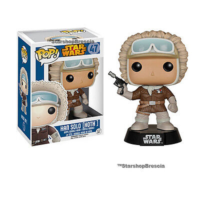 Han Solo Hoth Outfit Exclusive Bobble-Head Figure Funko (Pop-stars Outfits)