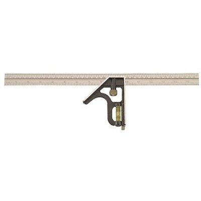Johnson Level Tool 420em 16-inch Englishmetric Metal Combination Square