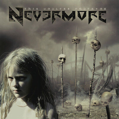 Nevermore   This Godless Endeavor  New Vinyl  Gatefold Lp Jacket  With Cd  Germa