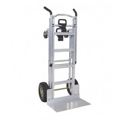 Hand Truck Dolly Heavy Duty Lightweight Cart 3 In 1 4 Wheel Aluminum One Hand