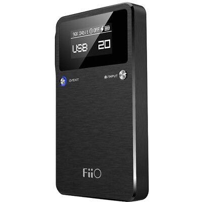 Fiio E17K Alpen II USB DAC Headphone Amplifier New in Retail Box!