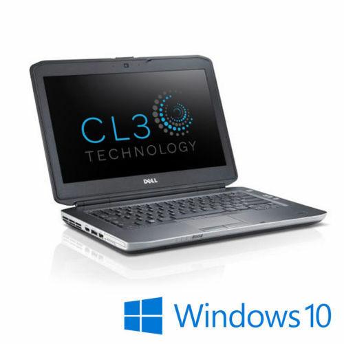 Laptop Windows - Dell Latitude LAPTOP Computer INTEL 8GB 350G SSD WEBCAM HDMI Windows 10 WiFi PC