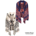 Wool Blend Cardigan Geometric Jumpers & Cardigans for Women