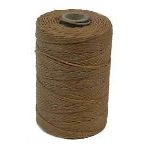 Irish-Waxed-Linen-String-Cord-Butterscotch-4-Ply-100-yards-Beading-Weaving