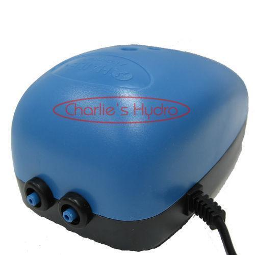 Hydroponics air pump ebay for Hydroponic air pump