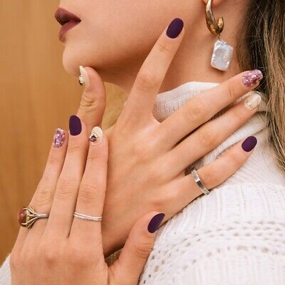K-beauty OHORA Self Gel nail art stickers nailpatch N Nouvelle Vague nails