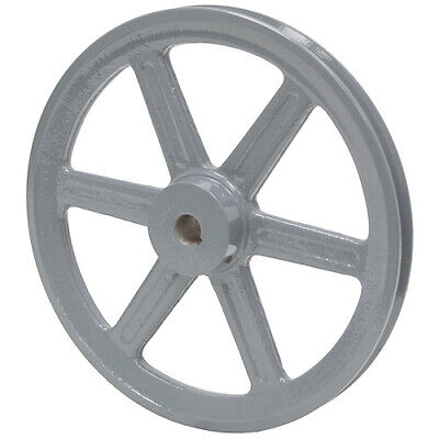 6.25 Diameter 1-18 Bore 1 Groove V-belt Pulley 1-bk65-f
