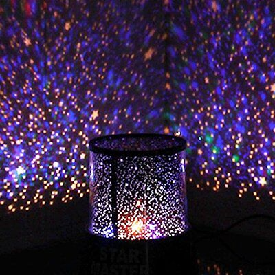 Calming Autism Sensory Toys LED Light Projector Multicolour Lamp Relax Sky Star