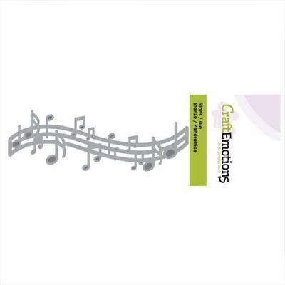 CraftEmotions Stanzschablone Musik Noten 115633/0156