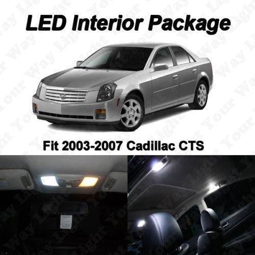 Cadillac cts interior lights ebay - Cadillac cts interior accessories ...