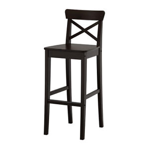 Vintage Black Ingolf Bar Height Chairs (2 still available!)