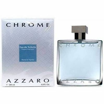 Chrome By Azzaro 6 7   6 8 Oz Edt Spray New In Box Sealed Cologne For Men