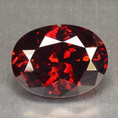 6.52 Cts Natural Rare Deep Red Sphalerite Oval Cut Spain Gem (Video Avl