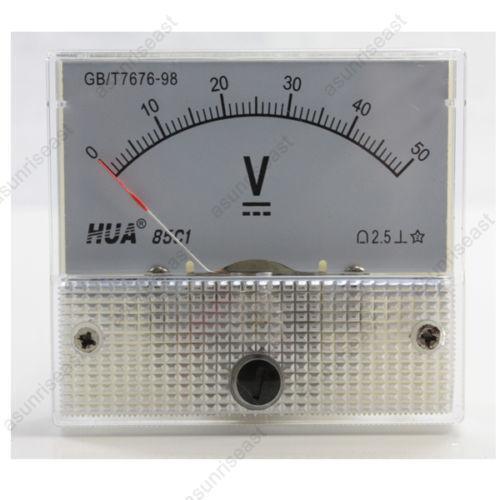 12 Volt Dc Amp Meter Analog : Analog voltmeter ebay