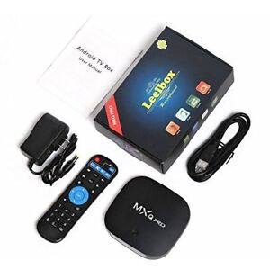 MXQ PRO 4K Android Box (2GB Ram, Android 7.1.2) Programmed, $80