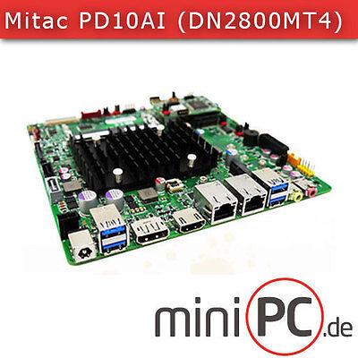 Mitac PD10AI-N4200 (Intel DN2800MT4) Mini-ITX Mainboard / Motherboard [FANLESS]