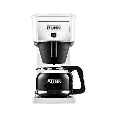 BUNN GRX-W/GRW 10 Cup Velocity Brew Coffee Maker White Brewer