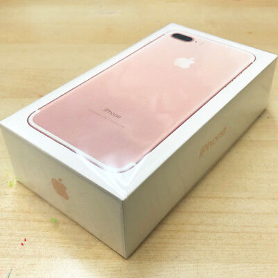 New Sealed in Boxed Apple iPhone 7 Plus 32GB Rose Gold AT&T A1784 1 Yr Promise