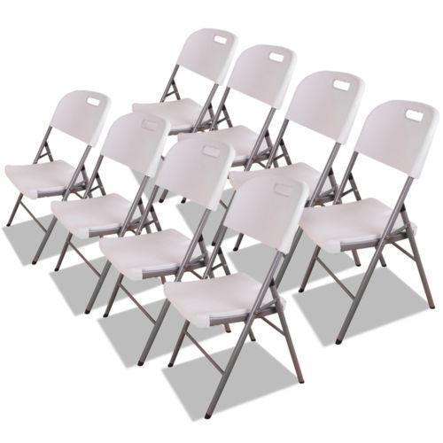 Plastic Folding Chairs eBay