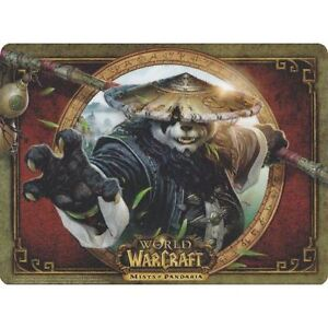 World of Warcraft Mists of Pandaria Collectors Mousemat NEW