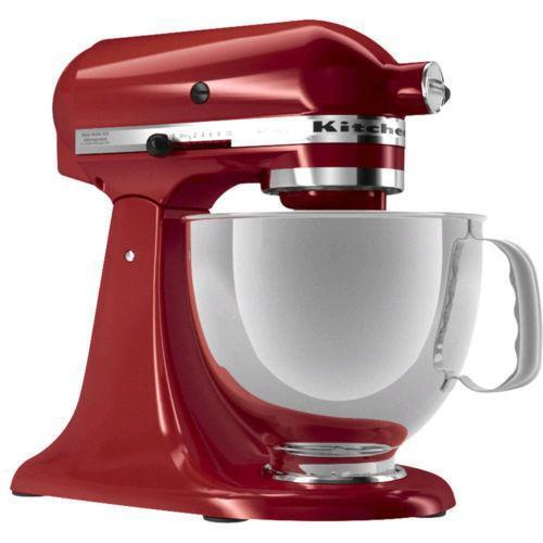 kitchenaid artisan stand mixer red ebay. Black Bedroom Furniture Sets. Home Design Ideas
