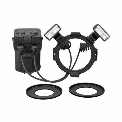 Sony Alpha HVL-MT24AM Macro Twin Flash Kit **OPEN BOX**