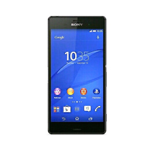 Xperia Z3 16GB unlocked works perfectly with charger. Water resi