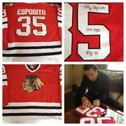 Tony Esposito Autograph