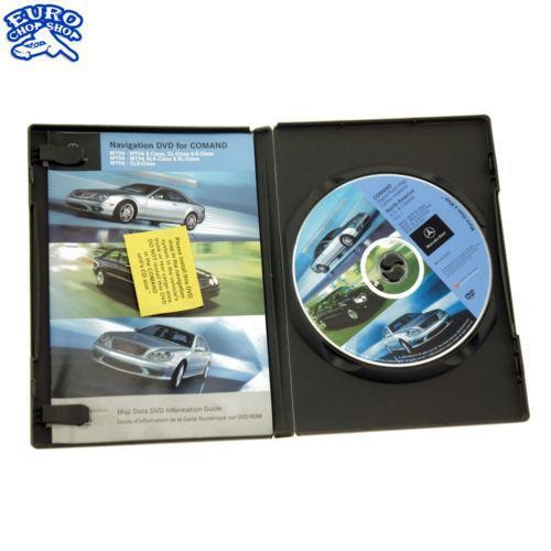 mercedes navigation dvd e350 ebay. Black Bedroom Furniture Sets. Home Design Ideas