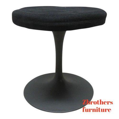 Burke Mid Century Tulip revolving Foot stand Ottoman Bench